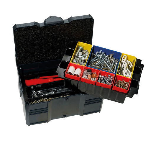 View a Larger Image of Systainer MINI T-LOC III with Box Insert Set, 3 divisions, Anthracite