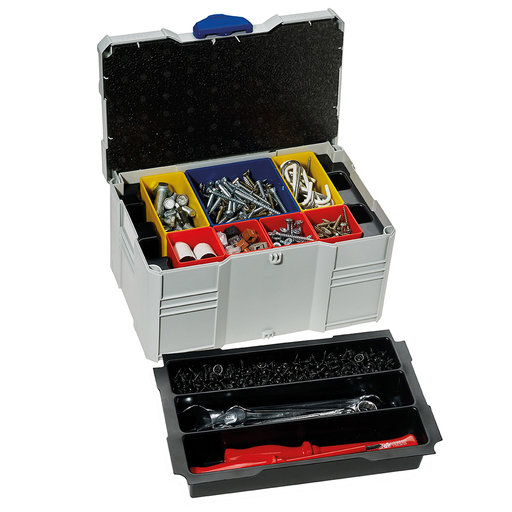 View a Larger Image of Systainer MINI T-LOC III with Box Insert Set, 3 divisions, Light Gray
