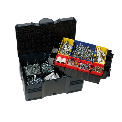 View a Larger Image of Systainer MINI T-LOC III with Box Insert Set, 6 divisions, Anthracite