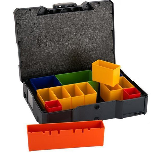 View a Larger Image of Systainer T-Loc I with Box Compartments, Anthracite