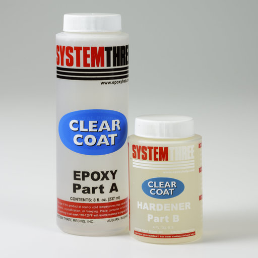 View a Larger Image of Gloss Epoxy ClearCoat 12 oz