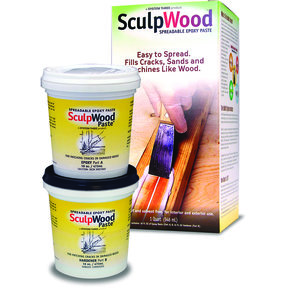 Sculpwood Paste, 1 Qt. Kit