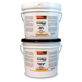 Sculpwood Paste, 2 Gal. Kit