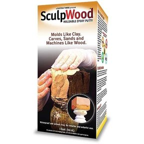 SculpWood Putty, 1 Qt.