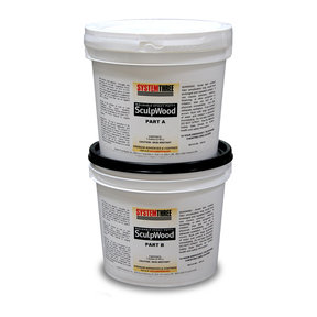 SculpWood Putty, 2 Gal. Kit