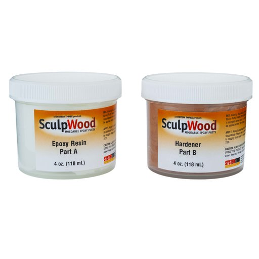 View a Larger Image of SculpWood Putty 8oz