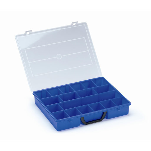View a Larger Image of T-Loc V, Organizer Box Blue