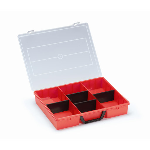 View a Larger Image of T-Loc V, Organizer Box Red