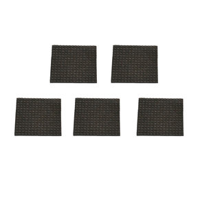T-Tec Mini Anti-Slip Mats, 12 x 12cm, set of 5