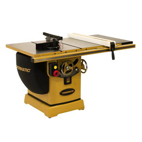 "Table Saw 5HP, 1PH, 230V, 30"" RIP, Model PM2000B"