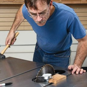 Table Saw Tuneup - Downloadable Technique