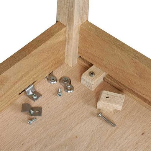 View a Larger Image of Table Top Fasteners 8 pc with screws