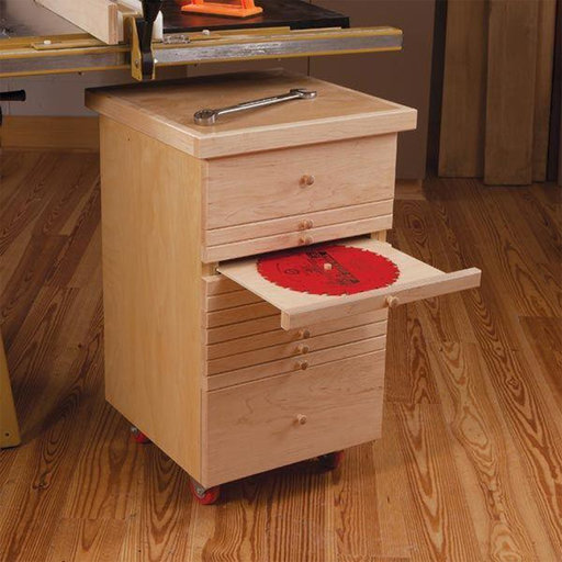 View a Larger Image of Tablesaw Accessories Cabinet - Paper Plan