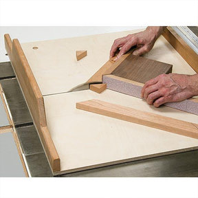 Tablesaw Miter Sled - Paper Plan