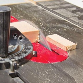Tackling Tearout at the Tablesaw - Downloadable Plan