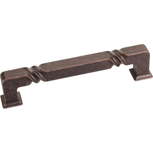 View a Larger Image of Tahoe Pull, 128 mm C/C, Distressed Oil Rubbed Bronze