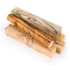 "Tamarind, Spalted 3/4"" x 3/4"" x 5"" Wood Pen Blank 5pc"