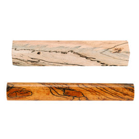 "Tamarind, Spalted 3/4"" x 3/4"" x 5"" Stabilized Wood Pen Blank 1pc"