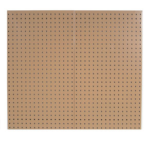 Tan Epoxy, 18 Gauge Steel Square Hole Pegboards
