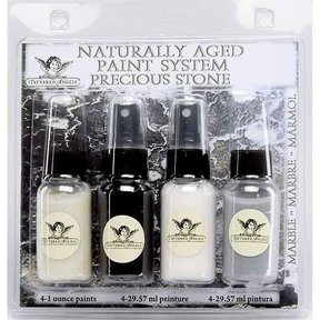 Naturally Aged Faux Finish Paint Kit, Marble