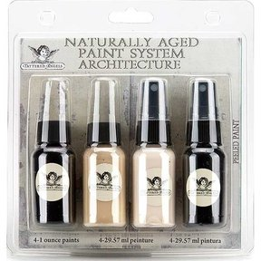 Naturally Aged Faux Finish Paint Kit, Peeled Paint