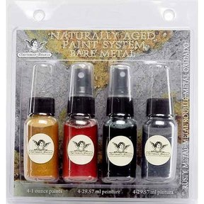 Naturally Aged Faux Finish Paint Kit, Rusty Metal
