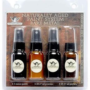Naturally Aged Faux Finish Paint Kit, Weathered Bronze