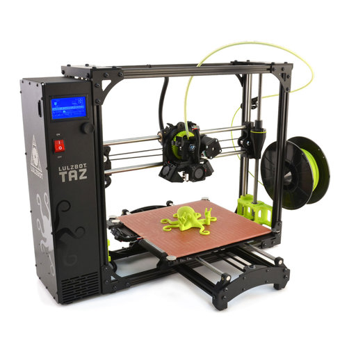 View a Larger Image of TAZ 3D Printer v6.0 with .50mm nozzle NA