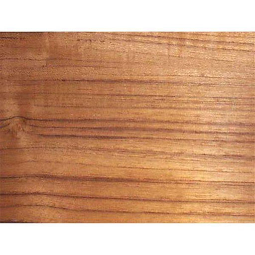 View a Larger Image of Teak Veneer 2' x 8' - 10 mil