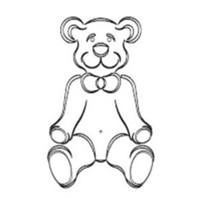 TEDDY BEAR TEMPLATE  - CMT Part: RCS-906