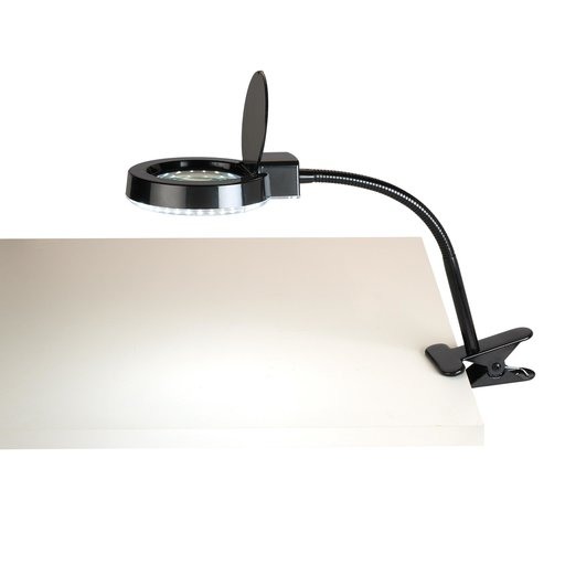 View a Larger Image of LED Magnifier Clip Light
