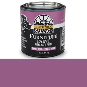 That's Gonna Leave a Mark' - Purple Furniture Paint, 1/2 Pint 236.6ml (8 fl. Oz.)