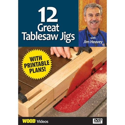 View a Larger Image of The Best of Jim Heavey on DVD: 12 Great Tablesaw Jigs DVD
