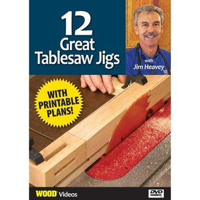 The Best of Jim Heavey on DVD: 12 Great Tablesaw Jigs DVD