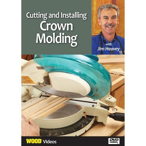 View a Larger Image of The Best of Jim Heavey on DVD: Cutting and Installing Crown Molding