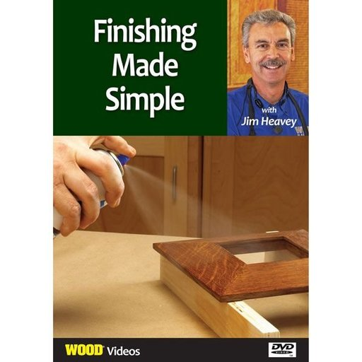 View a Larger Image of The Best of Jim Heavey on DVD: Finishing Made Simple