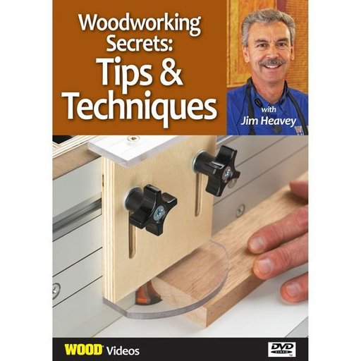 View a Larger Image of The Best of Jim Heavey on DVD: Woodworking Secrets: Tips & Techniques