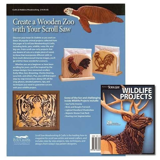 View a Larger Image of The Best of Scroll Saw Wildlife Projects