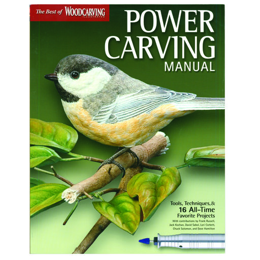 View a Larger Image of The Best of Woodcarving Power Carving Manual