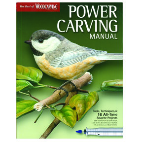 The Best of Woodcarving Power Carving Manual