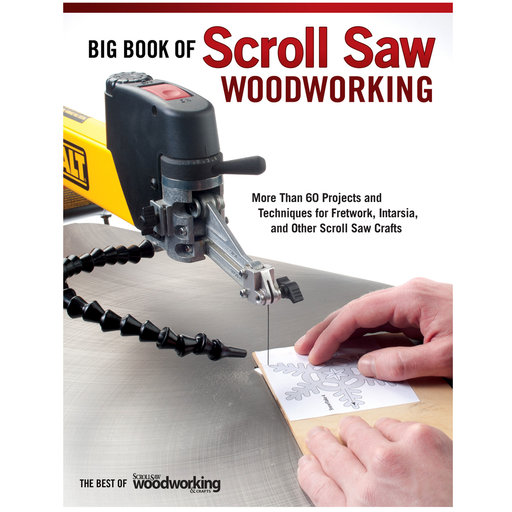 View a Larger Image of The Big Book of Scroll Saw Woodworking