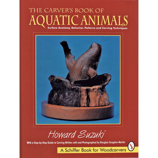 View a Larger Image of The Carver's Book of Aquatic Animals