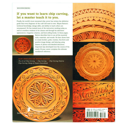View a Larger Image of The Complete Guide to Chip Carving