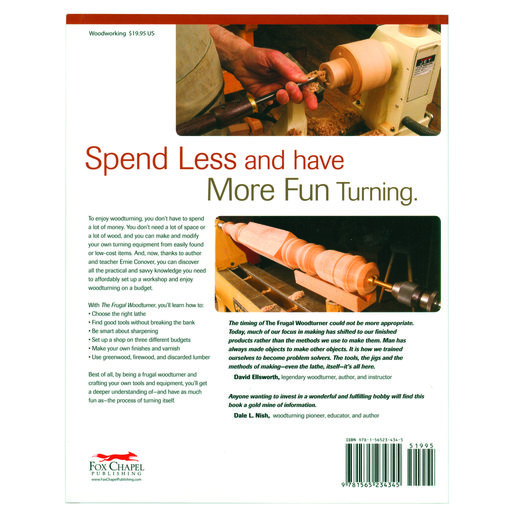 View a Larger Image of The Frugal Woodturner