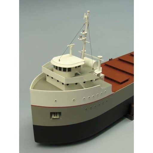 View a Larger Image of The Great Lakes Freighter Boat Kit
