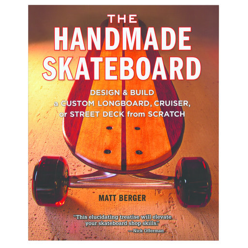 View a Larger Image of The Handmade Skateboard