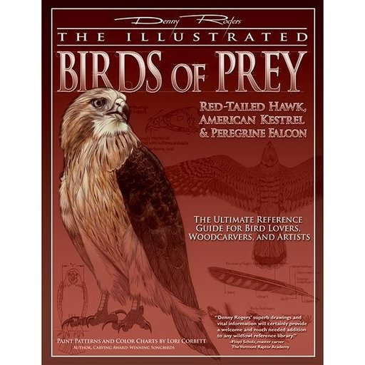 View a Larger Image of The Illustrated Birds of Prey