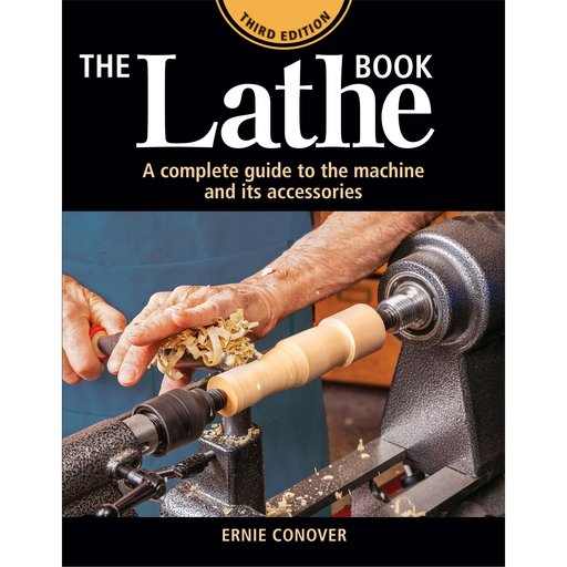 View a Larger Image of The Lathe Book 3rd Edition