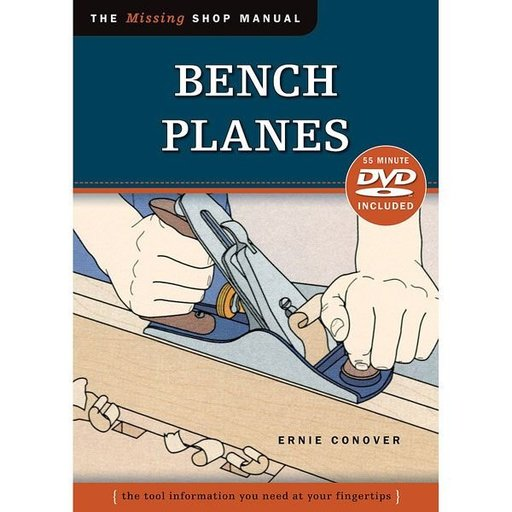 View a Larger Image of The Missing Shop Manual Bench Planes with DVD