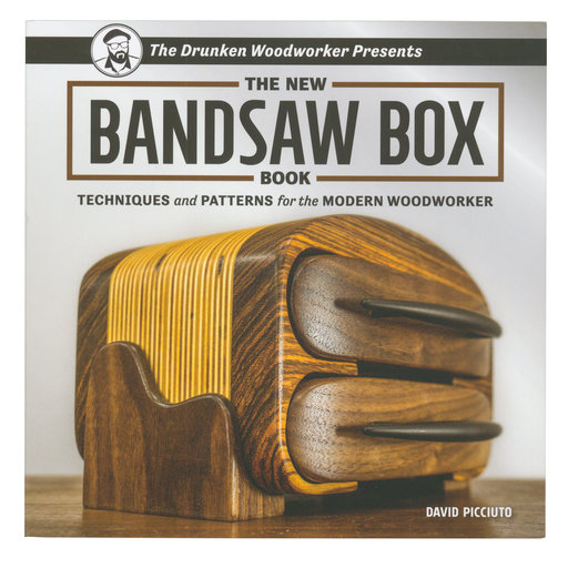 View a Larger Image of The New Bandsaw Box Book
